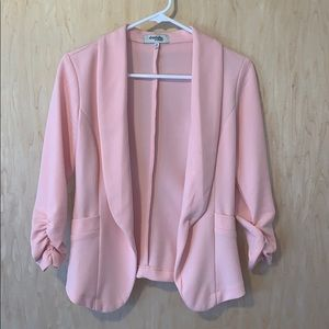 Light Pink/Peach Charlotte Russe Blazer